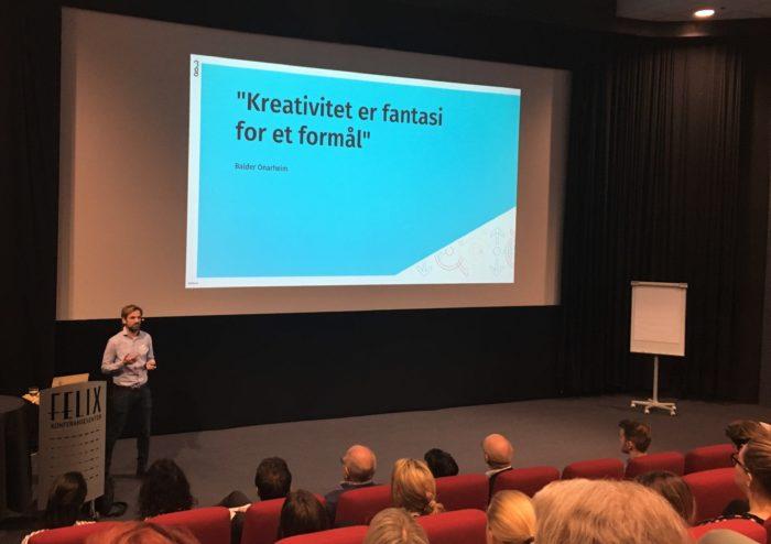 Gjermund Glesnes holder foredrag på Best i Tekst 2019