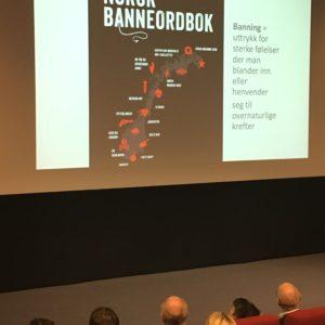 Ruth Vatvedt Fjeld har skrevet banneordboka og snakker om ord med makt på Best i Tekst