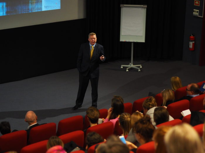 Hans-Christian Vadseth på Best i Tekst-konferansen